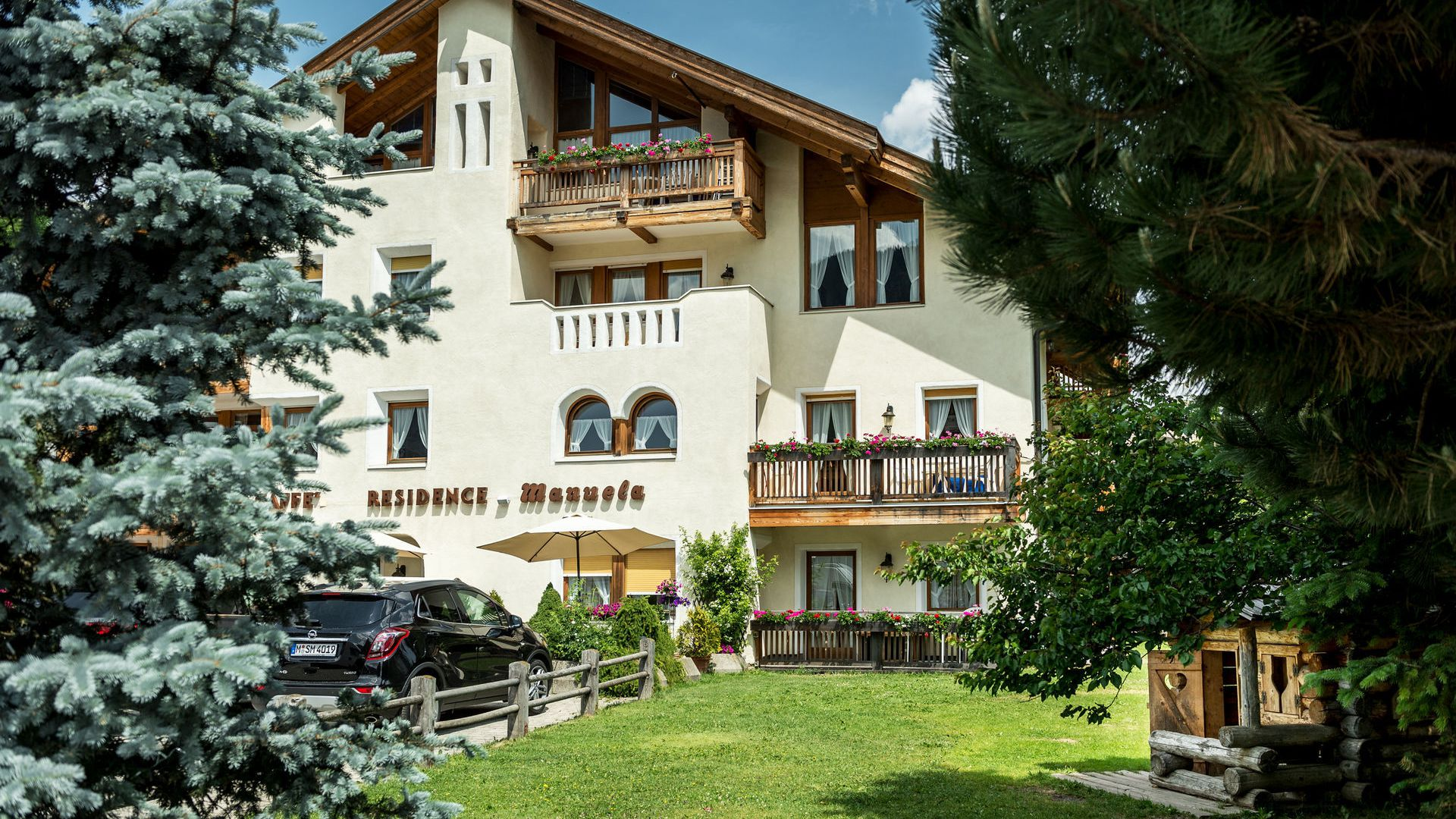 Image: Apartments at La Villa in Alta Badia